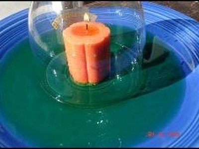 Water and Candle Science Project
