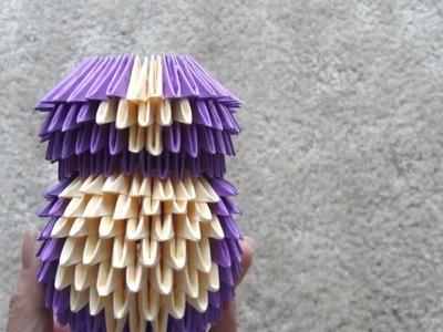 3D Origami Teddy Bear Tutorial (Small)