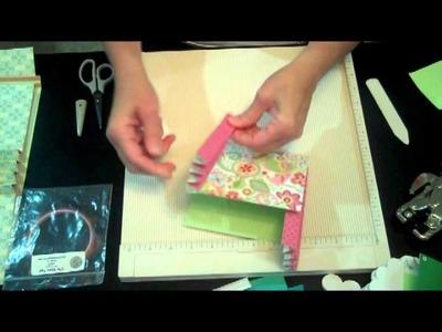 Accordion Pockets and Accordion Binding Mini Book