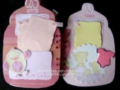 Baby Girl Mini Album bottle