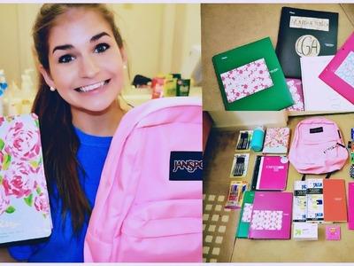 BACK TO SCHOOL SUPPLIES HAUL + DIY Personalized Folders, Notebooks, Etc.