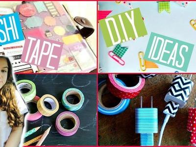 Back To School: Washi Tape DIY Ideas