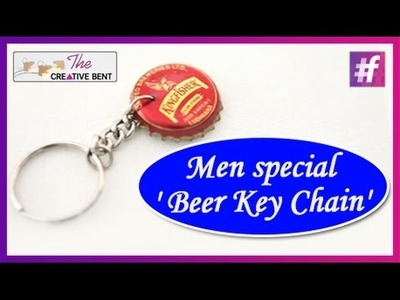 Beer Key Chain | Gift Ideas For Men | DIY with Swati
