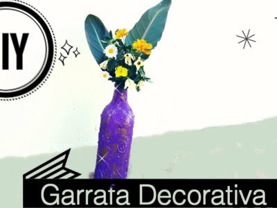 Blog do Sillva | DIY Garrafa Decorativa