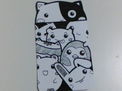 Bookmark DIY style Doodle