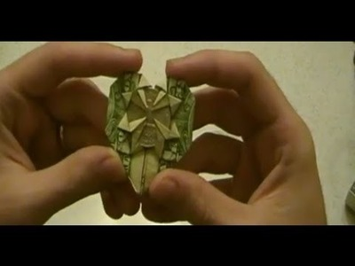 COOL ORIGAMI - Make a Heart From a Dollar Bill