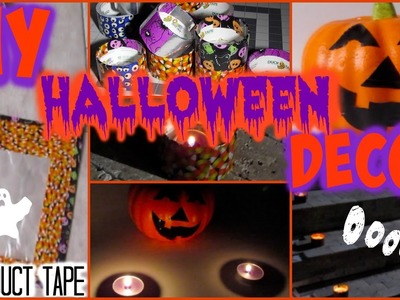 DIY Halloween Decor with Duct Tape! & Giveaway!