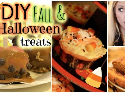 DIY Halloween.Fall Treats