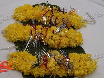 DIY How to make gajra (Traditional Indian Garland) 3 - JK Arts 142
