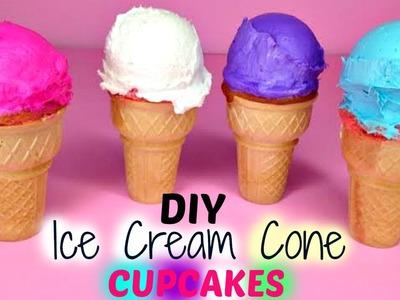 DIY Ice Cream Cone CUPCAKES