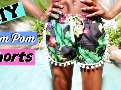 DIY Pom Pom Shorts + More | Summer 2015 | Tashalala
