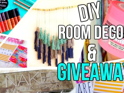 DIY Room Decor & Dorm Decor | Back to School 2015 GIVEAWAY | Courtney Lundquist