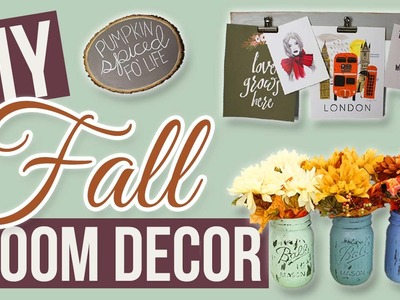 DIY Rustic Fall Decor Ideas! 2015