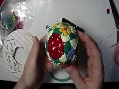Flower Garden Kimekomi Ornament