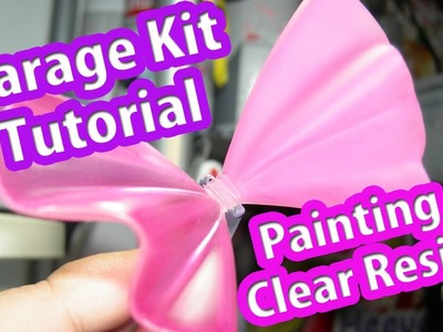 Garage Kit Tutorial: How to paint Clear Resin (Subs Esp)