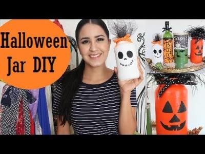 Halloween: Decor Jar DIY