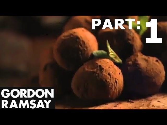 Hand-made Mint Chocolate Truffles (Part 1) - Gordon Ramsay