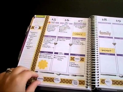 How I use my Erin Condren Life Planner {DIY dividers}