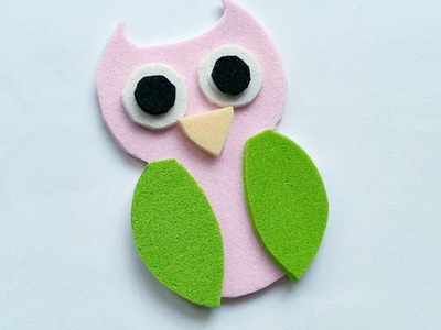 How To Create A Cute Foam Owl - DIY  Tutorial - Guidecentral