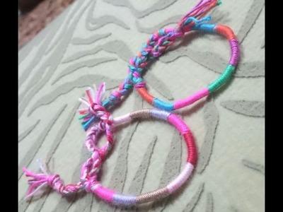 How to DIY Friendship Bracelets | How to DIY Friendship Bracelets + Tutorial .