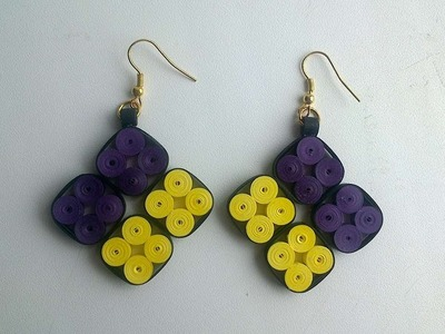 How To Make Bright Quilling Earrings - DIY Style Tutorial - Guidecentral