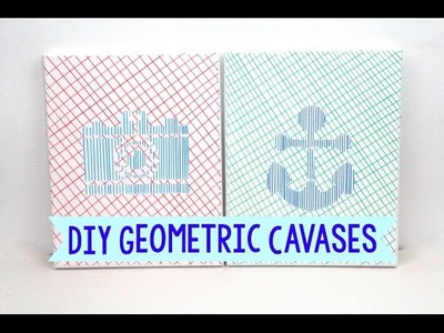How To Make Geometric Canvases