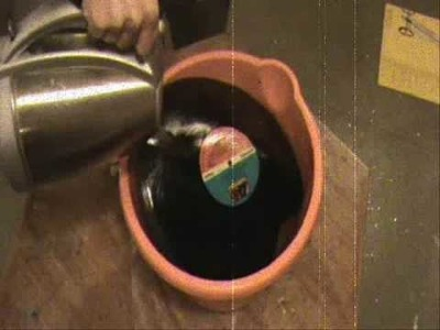 HOW TO MAKE YOUR OWN RECORD.VINYL.LP BOWL.BOWLS