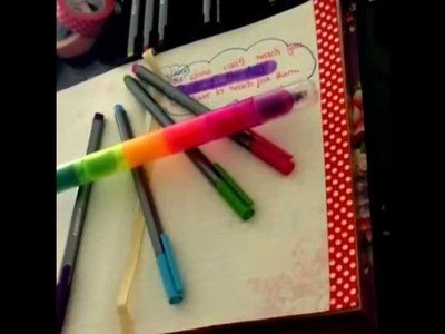 How to Start a Journal, Planner DIY   Dear Diary