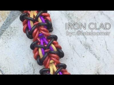 IRON CLAD Hook Only bracelet tutorial
