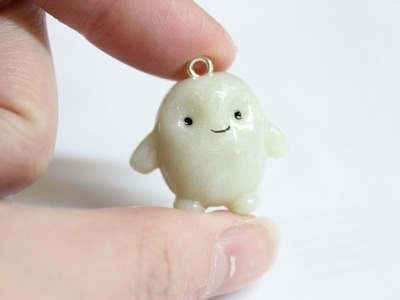 Polymer Clay Doctor Who Adipose Tissue Charm
