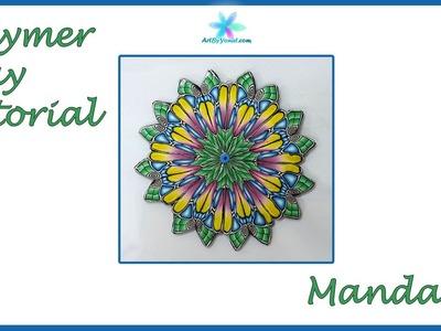 Polymer Clay Tutorial - Mandala - Lesson #43