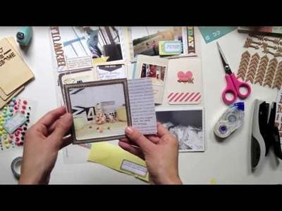 Project Life: combining a collection & kit cards with Lexi Bridges (Two Peas in a Bucket)
