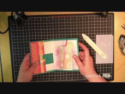 Sensational Cylinder Card Tutorial