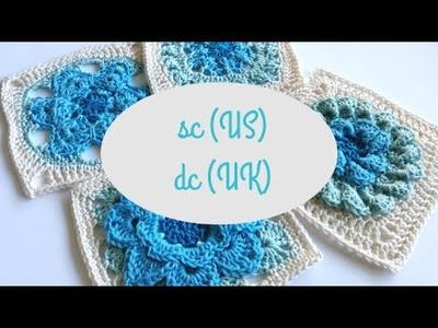 Single crochet (sc US) or Double crochet (dc UK) by Shelley Husband Spincushions