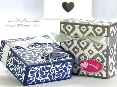 SpringWatch 2015 Large Fold Over Gift Box Tutorial