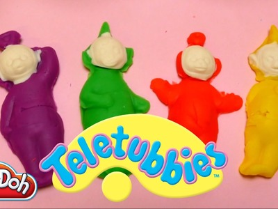 Teletubbies Play-Doh Toys - DIY Playset with Molds