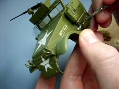 Weathering olive drab - part 1: simple wash