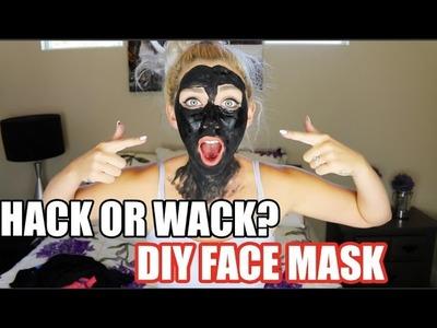 Beauty Hacks: Hack or Wack? DIY Charcoal Face Mask
