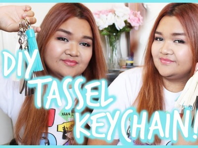 Cute DIY Tassel Keychain!!   itskathx3