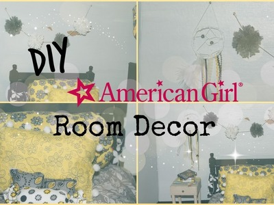 DIY American Girl Room Decor- Pinterest Inspired