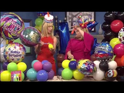 DIY Balloon Art - Awesome party decorations to fit any budget with Balloons!