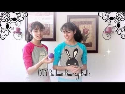 DIY Balloon Bouncy Ball (no borax)