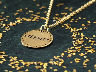 DIY by Panduro: Jewellery with words and text
