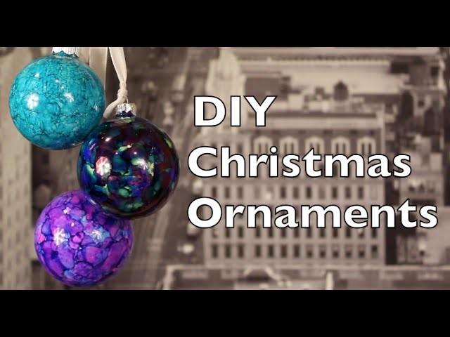 DIY Christmas Ornaments   How To Make Christmas Ornaments at Home