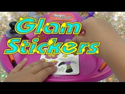 DIY - Create your own GLITTER Stickers!