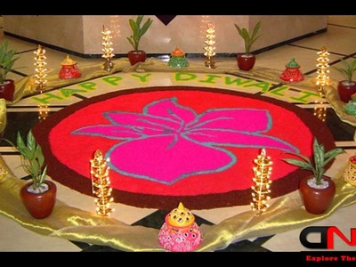 DIY Diwali Decoration Ideas | Candles Diyas Deepak | Room Decor Flowers