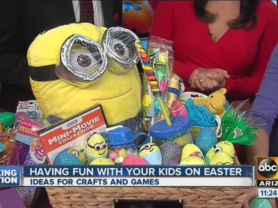 DIY Easter basket ideas with non-food items