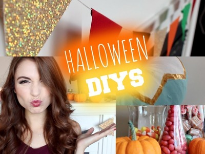 DIY: Halloween.Fall Decorations!!