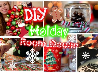 ❄DIY Holiday Room Decor! ❄