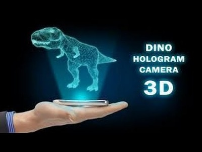DIY How To Make 3D Hologram Projector for your phone
